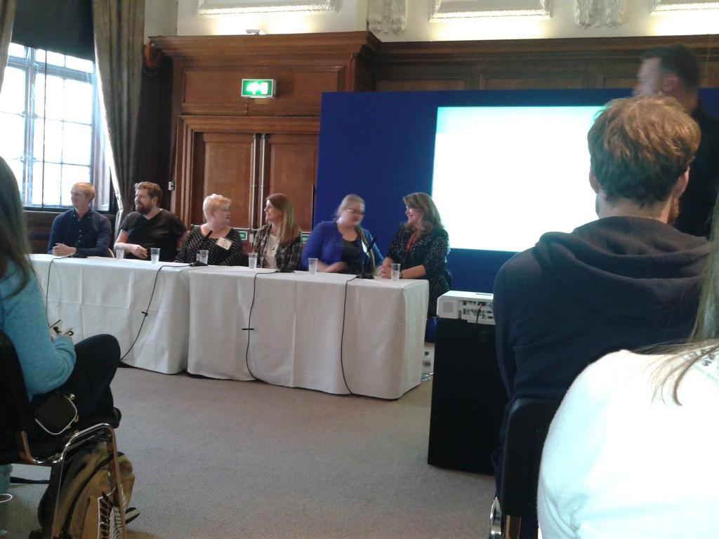 London Book Fair 2015 YA fantasy author panel